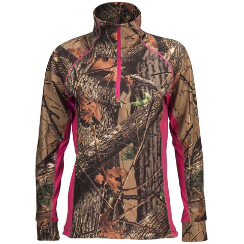 Women's Camo Impulse 4-Way Stretch 1/4 Zip Jacket - Trailcrest.com