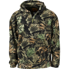 Men's Camo Chambliss 1/4 Zip Hoodie - Trailcrest.com