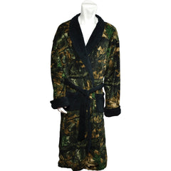 Men's Camo Romanta Coral Fleece Robe - Trailcrest.com