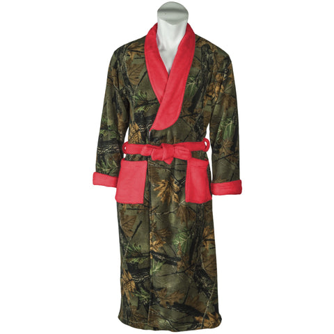 Women's Camo Romanta Coral Fleece Robe - Trailcrest.com