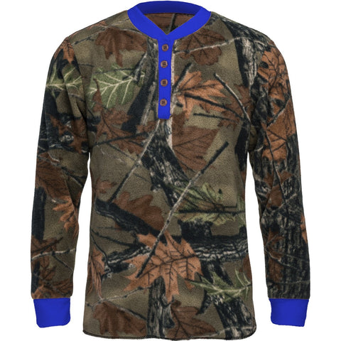 Kids Camo Daysor Lounge Pajama Top - Trailcrest.com
