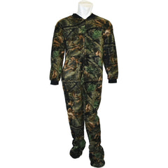 Men's Camo Daysor Footed Pj-Lounger - Trailcrest.com