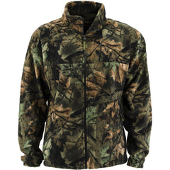 Men's Camo Albates Full Zip Fleece Jacket - Trailcrest.com
