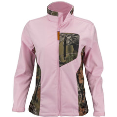 Women's Pink Camo Custom Xrg Soft Shell Waterproof Jacket - Trailcrest.com