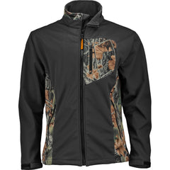 Men's Camo Waterproof Xrg Soft Shell Full Zip Jacket - Trailcrest.com