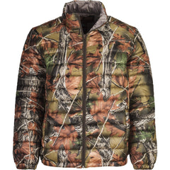 Men's Camo Ultra Thurmic Silk Padded Quilted Jacket - Trailcrest.com