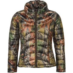 Women's Camo Ultra-Thermic Silk Padded Quilted Jacket - Trailcrest.com