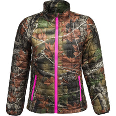 Girls Camo Ultra-Thermic Lightweight Jacket - Trailcrest.com