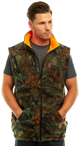 Men's Camo Thurmond Reversible Vest