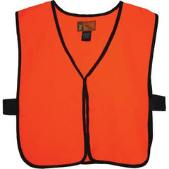 Men's Blaze Orange Safety Vest - Trailcrest.com