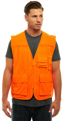 Men's Blaze Orange Shooters Vest - Trailcrest.com