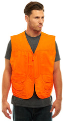 Men's Blaze Orange Front Loader Vest - Trailcrest.com