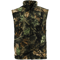 Men's Camo Albates Full Zip Vest - Trailcrest.com
