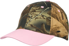 Kids Girls Camo Camping Cap - Trailcrest.com
