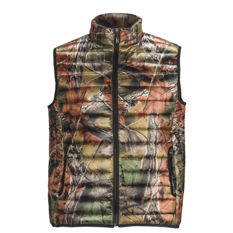 Women's Camo Ultra Thurmic Silk Padded Quilted Vest - Trailcrest.com