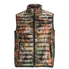 Men's Camo Ultra Thurmic Silk Padded Mens Quilted Vest - Trailcrest.com