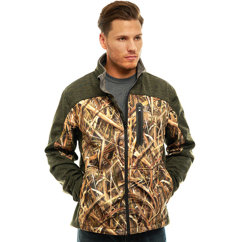 Men's Mossy Oak Waterproof Breathable XRG Soft Shell Jacket - Trailcrest.com