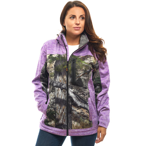 Women's Mossy Oak Waterproof Breathable XRG Soft Shell Jacket