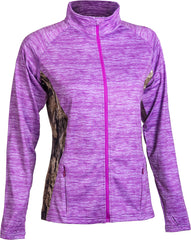 Mossy Oak Women's Impulse 4-Way Stretch Full Zip Jacket