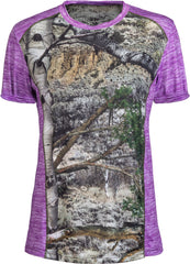 Mossy Oak Women's Impulse 4-Way Stretch Short Sleeve T-Shirt