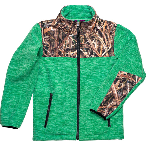 Toddlers Mossy Oak Full Zip C-Max Fleece Jacket