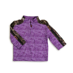 Mossy Oak Toddlers Impulse 4-Way Stretch 1/4 Zip Jacket