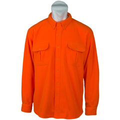 Men's Chambliss Blaze Orange Button-Down Shirt - Trailcrest.com