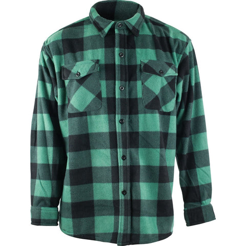 Men's Fleece Chambliss Heavyweight Plaid Work Shirt - Trailcrest.com