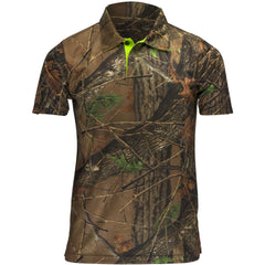 Men's Camo Pique Short Sleeve Shirt - Trailcrest.com