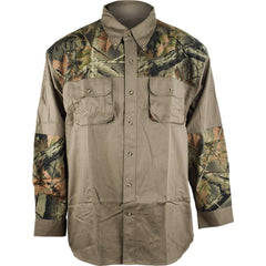 Men's Camo Shooting Shirt - Trailcrest.com