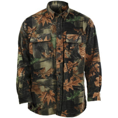 Men's Camo Chambliss Fleece Shirt - Trailcrest.com