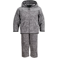 Toddlers Heathered Chambliss Fleece Hoodie & Pants Set