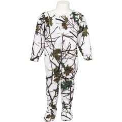 Toddler Snow Forest Camo Comfy Crawler - Trailcrest.com