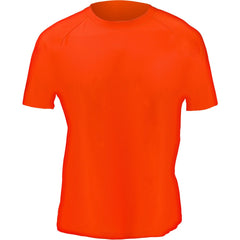 Men's Blaze Orange Active Performance Short Sleeve T-Shirt - Trailcrest.com