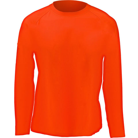 Men's Blaze Orange Active Performance Long Sleeve T-Shirt - Trailcrest.com