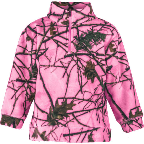 Infant Camo Everyday Easy 1/4 Zip Pullover - Trailcrest.com