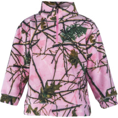 Toddler Camo Everyday Easy 1/4 Zip Pullover - Trailcrest.com