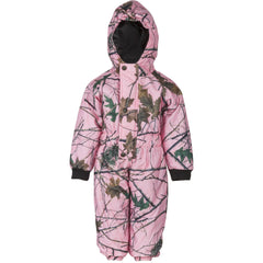 Infant Pink Forest Camo Evolton Insulated Snowsuit - Trailcrest.com