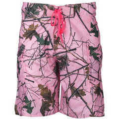 Women's Pink Camo H2O Board Shorts - Trailcrest.com