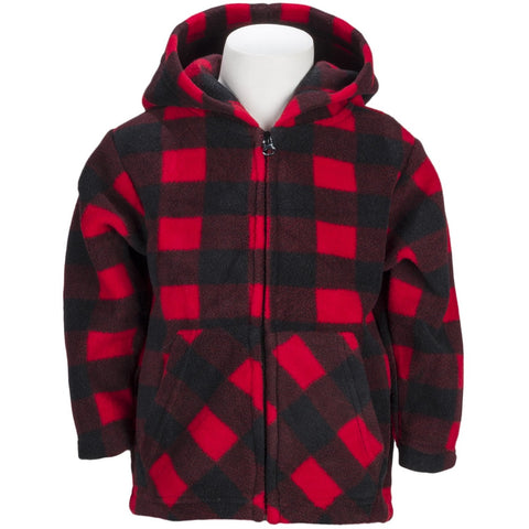 Infant Plaid Everyday Easy Hoodie - Trailcrest.com