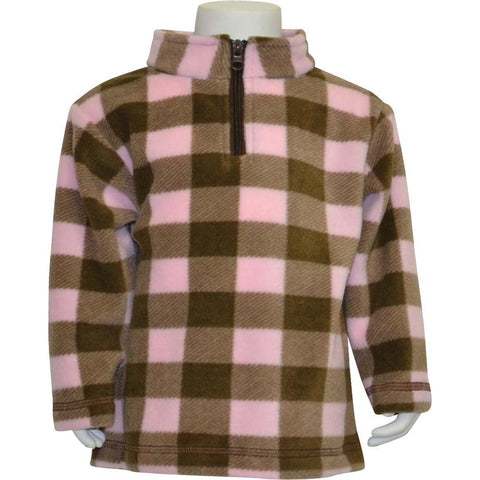Toddler Plaid Everyday Easy 1/4 Zip Pullover - Trailcrest.com