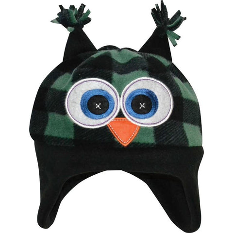 Kids Plaid Peek-A-Boo Pull On Hat - Trailcrest.com