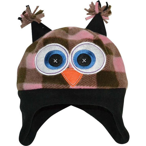 Toddler Plaid Peek-A-Boo Pull On Hat - Trailcrest.com