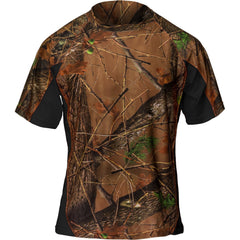 Men's Camo Impulse 4-Way Stretch Short Sleeve T-Shirt - Trailcrest.com