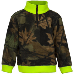 Toddler Camo Everyday Easy 1/4 Zip Jacket - Trailcrest.com