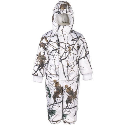 Infant Snow Forest Camo Evolton Insulated Snowsuit - Trailcrest.com