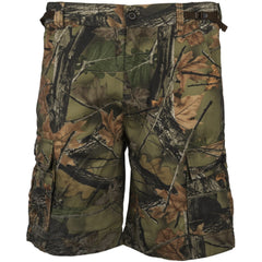 Men's Camo Washed Carson 6-Pocket Cargo Shorts - Trailcrest.com