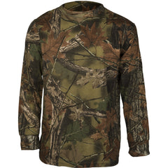 Men's Camo Cotton Long Sleeve T-Shirt - Trailcrest.com