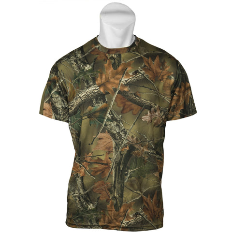 Women's Camo Active Performance Short Sleeve T-Shirt - Trailcrest.com