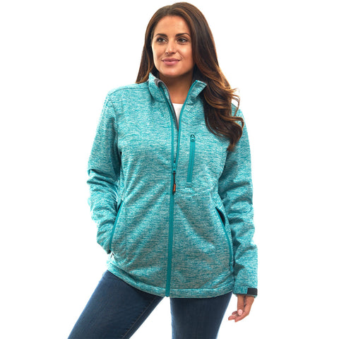 Women's Heather Waterproof Breathable XRG Soft Shell Jacket